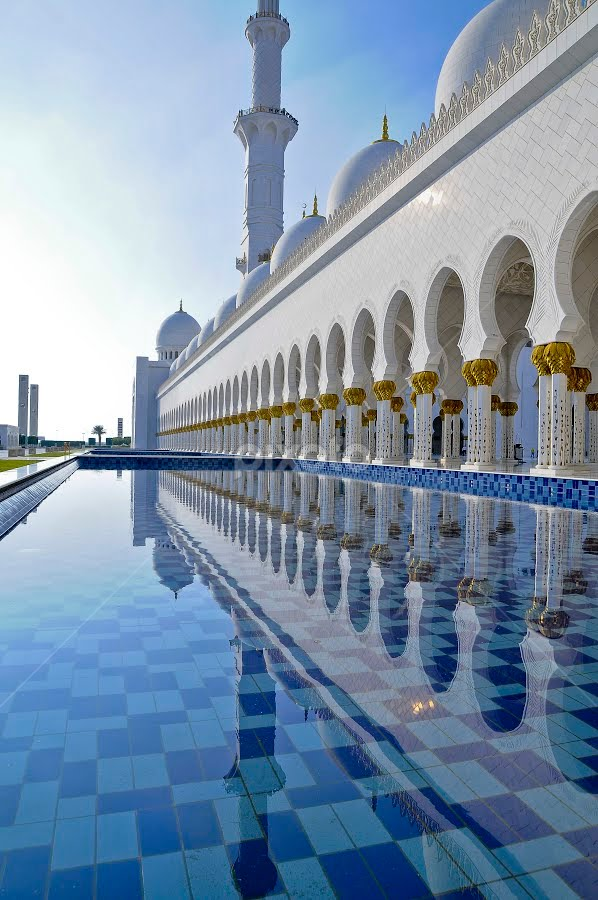 Grand Mosque, UAE by Jbern Eugenio - Landscapes Travel ( grand mosque, uae )