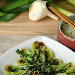 Braised Garlic Bok Choy