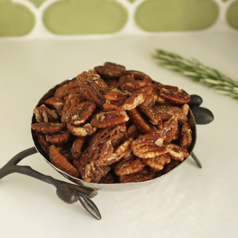 Sweet + Spicy Pecans