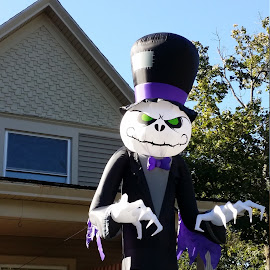 Halloween Creature #2 by Rita Goebert - Public Holidays Halloween ( halloween; decorations; air balloon decorations; )