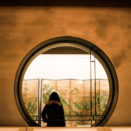 Window  by Lotlot Anna - Artistic Objects Furniture ( #circle #window #japan #culture #circumference )