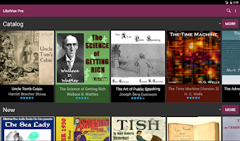Screenshot of LibriVox Audio Books Free