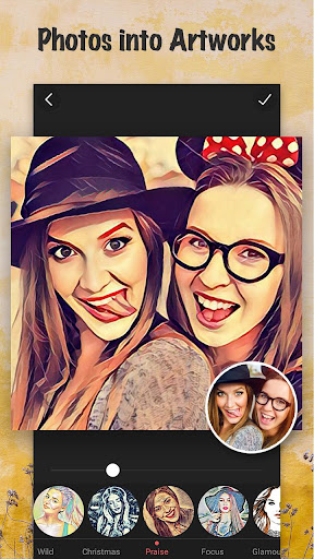 Cartoon Photo Filters-CoolArt screenshot 1
