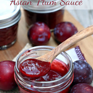Canning Plum Sauce Recipes