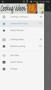 cooking videos - screenshot