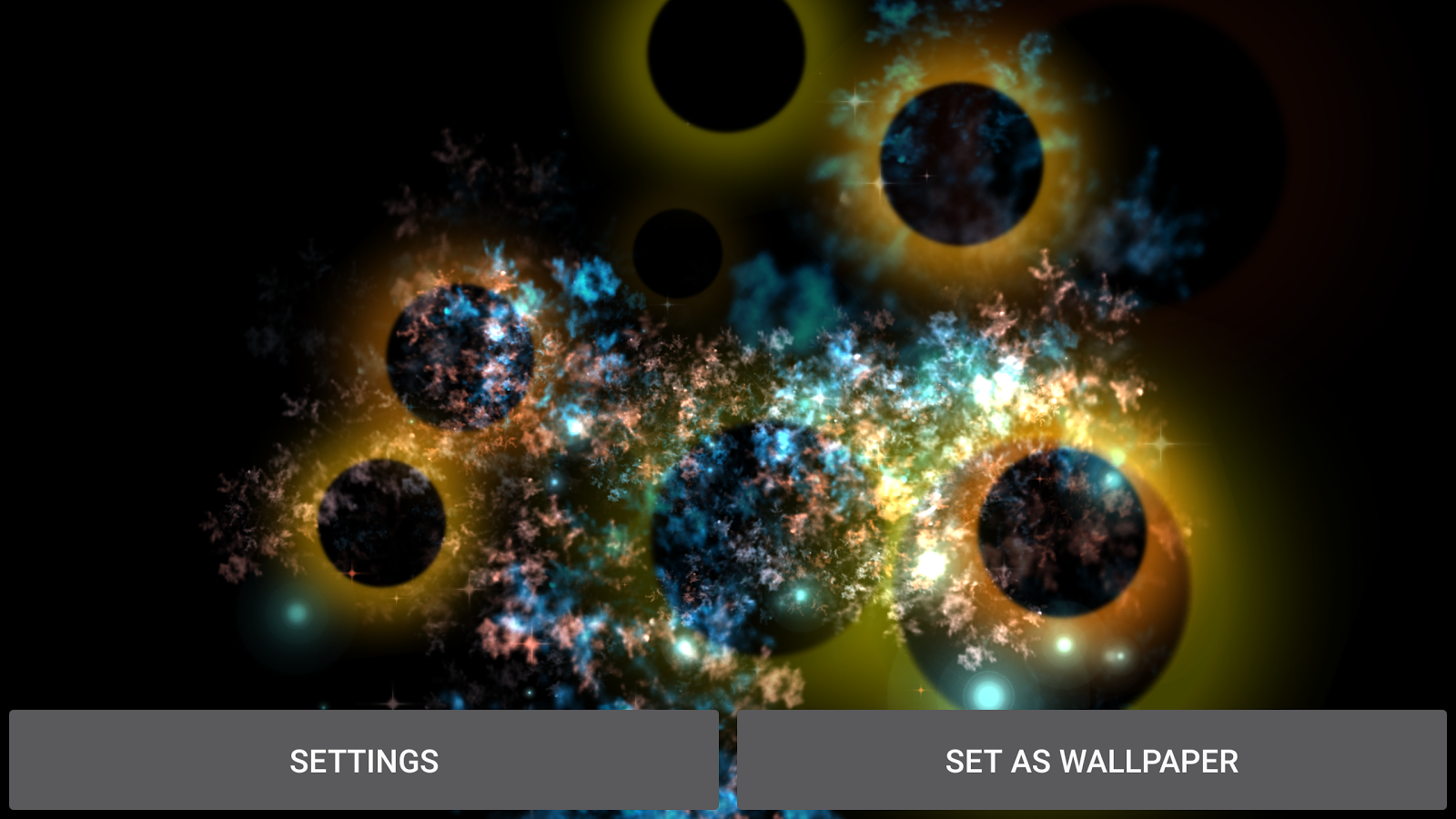 Abstract Gyro 3  3D Live WP Screenshot 14