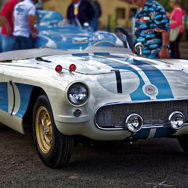 56 Sebring Racer by Marc Baisden - Transportation Automobiles ( history, restoration, adventure, travel, hobbies, creativity, car shows, classics )