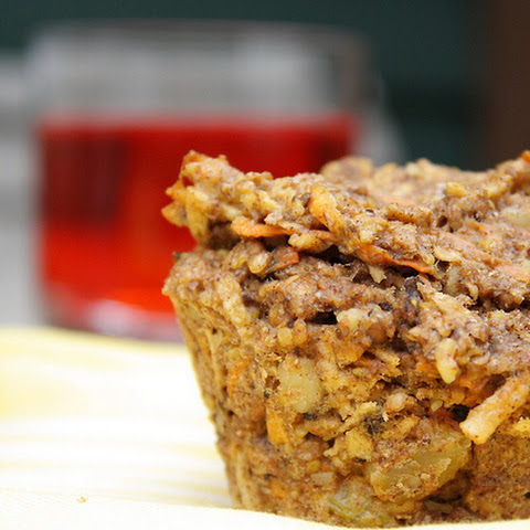 Apple and Carrot Bran Muffins