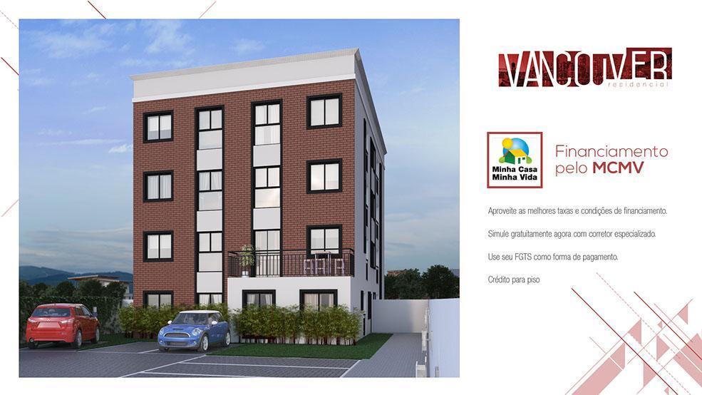 Apartamento residencial à venda, Vila Solene, Campo Largo.