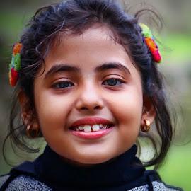 Sweet little girl  by Amrita Bhattacharyya - Babies & Children Child Portraits