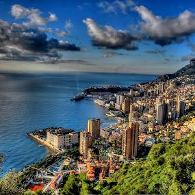 Monaco by Jean Marc Colonna d'Istria - City,  Street & Park  Skylines