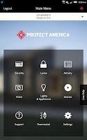 Screenshot of Protect America
