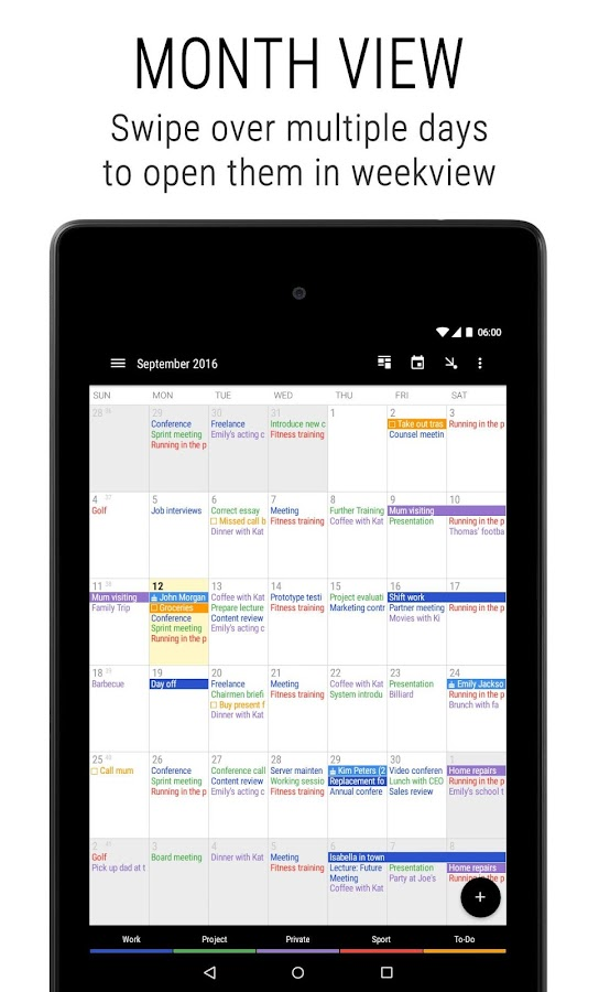 Business Calendar 2 Screenshot 16