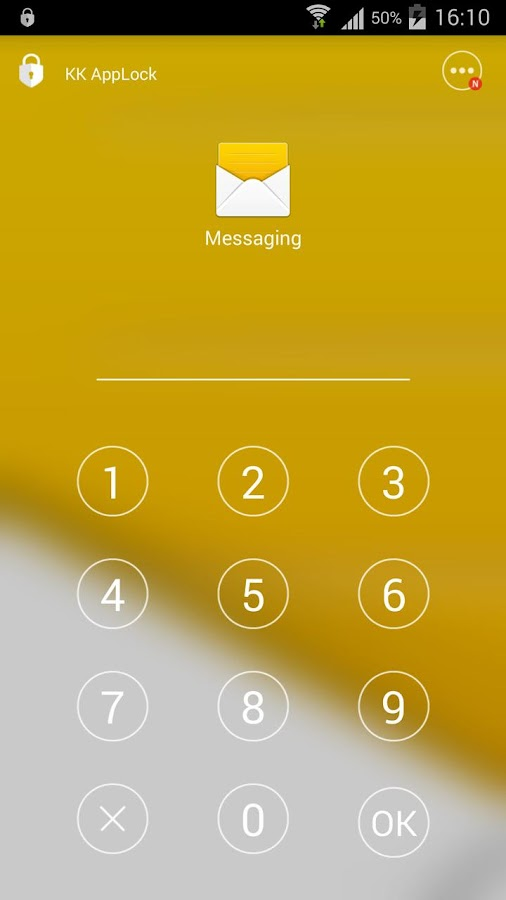 KK AppLock - Safest App Lock Screenshot 0