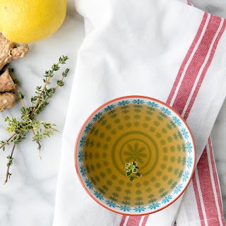 Slow Cooker Lemon-Ginger Sipping Broth