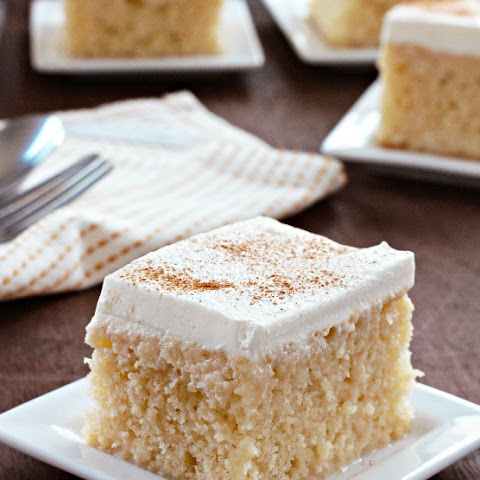 how to make tres leches cake with rum