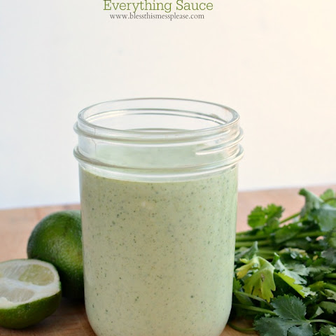 Put-it-on-Allthethings Cilantro Ranch Dressing and Sauce