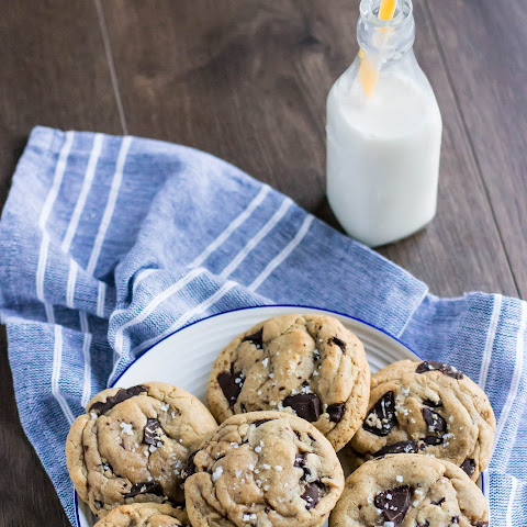 Brown Butter Chocolate Chunk & Sea Salt Cookies