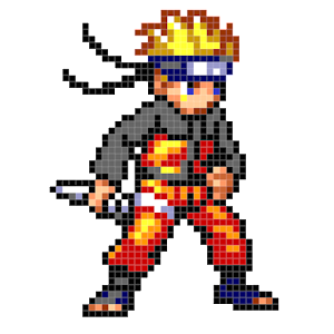 NaruSuke Color by Number - Sandbox Ninja Pixel For PC / Windows 7/8/10 / Mac – Free Download