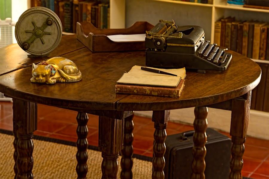 Hemingway Study by Izzy Kapetanovic - Artistic Objects Antiques ( hemingway house, fl, key west )