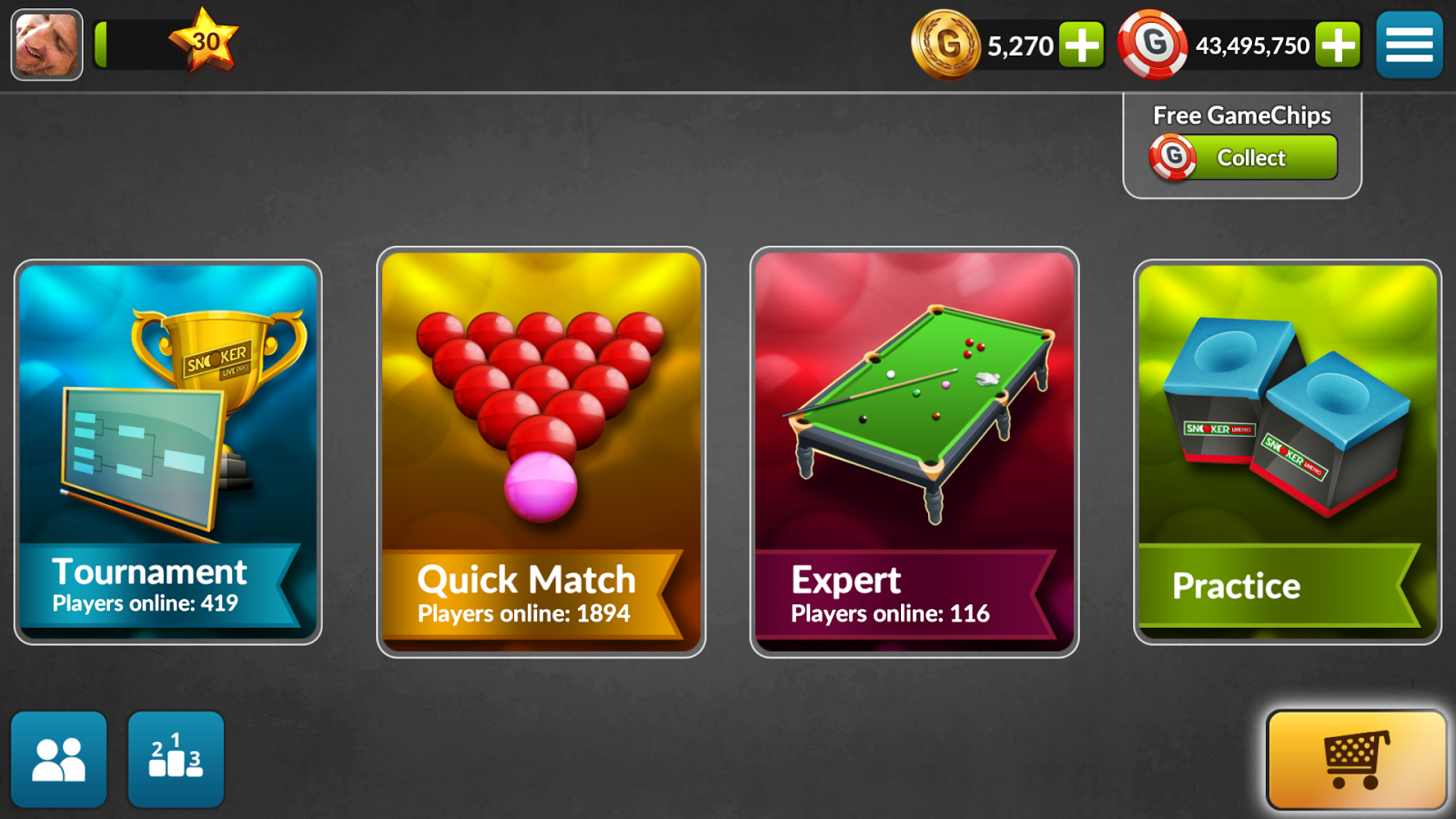 Snooker Live Pro Screenshot 1