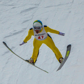 US Olympic Trial Ski Jumping 4 by Tom Anderson - Sports & Fitness Snow Sports ( olympics, ski jumping )