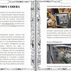 Importance of Construction Camera by Aisha Jonasson - Web & Apps Pages ( axis capital group construction equipment rentals in jakarta, kuala lumpur, singapore, importance of construction camera )