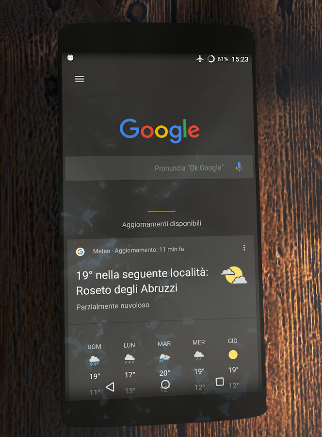N/Pixel Dark Substratum Theme Screenshot 5