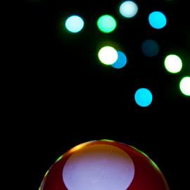 Peek-A-Boo by NeoSky Sky - Artistic Objects Toys ( lights, mushroom, toy, bokeh )