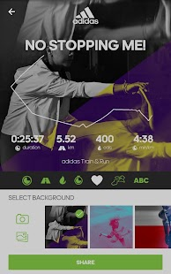 App adidas train & run 4.7.2.30.42432e5 APK for iPhone