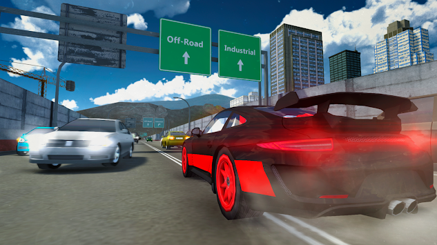 Racing Car Driving Simulator APK screenshot thumbnail 6