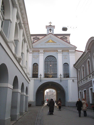 The Gate of Dawn in Vilnius