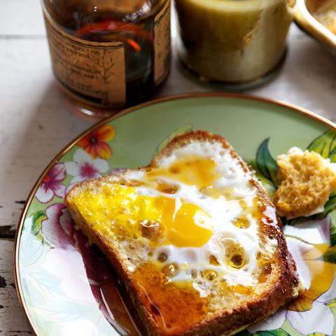 Baked Eggs (Toad in the Hole) French Toast
