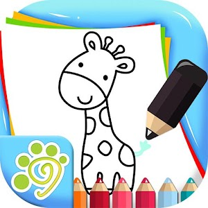 Simple line drawing for kids For PC (Windows & MAC)