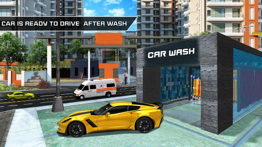 Modern Super Car Wash Station 2018 Screenshot