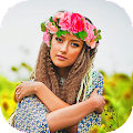 App Flower Crown Photo Filters apk for kindle fire
