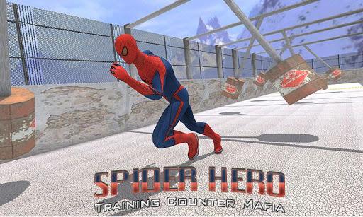 Spider Hero Training Counter Mafia For PC