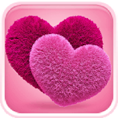 Download Cute Hearts Live Theme APK to PC