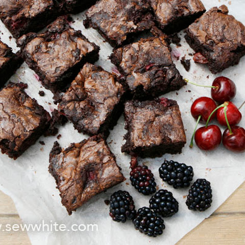 Black Forest Chocolate Brownies