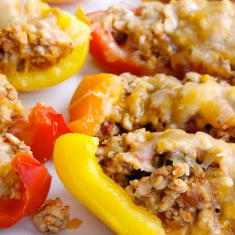 Bell Pepper Nacho Boats