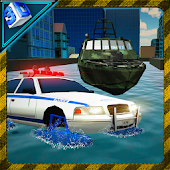 Download Android Game Sea Police Car - Boat Chase for Samsung