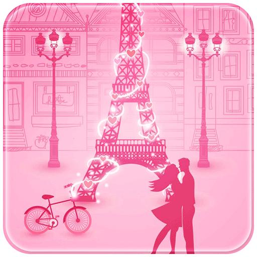 Pink Paris Love Rabbit (app)