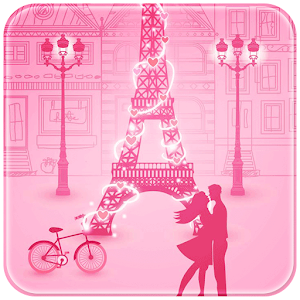 Pink Paris Love Rabbit