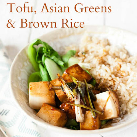 Tamari Silken Tofu, Asian Greens & BRITA Filtered Water Brown Rice
