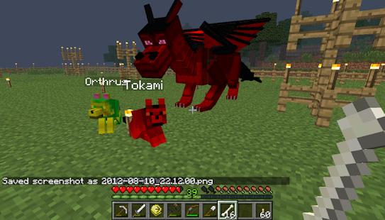 Как можно сделать в майнкрафте дракона в версии 18