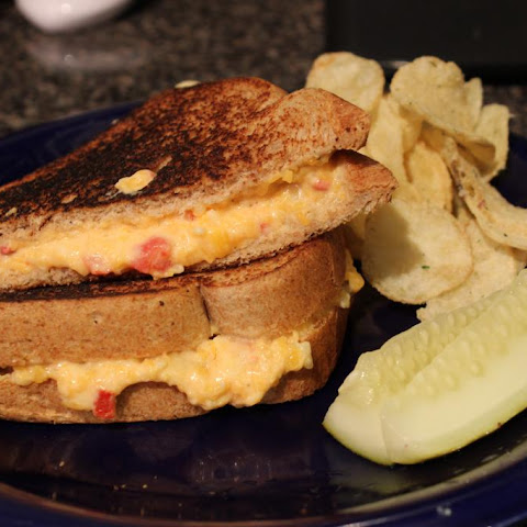Southern Style Pimento Cheese Grilled Cheese Sandwich
