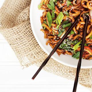 Udon Noodle Stir Fry Vegetable Recipes