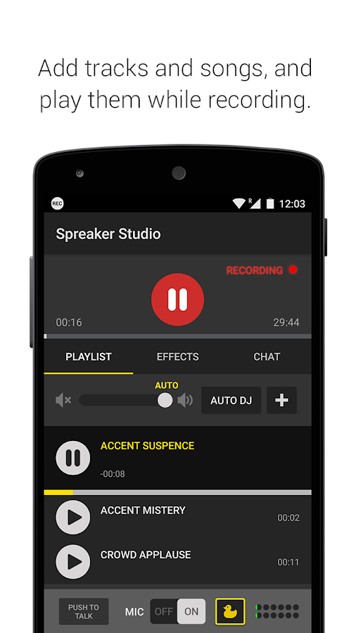 Spreaker Studio Screenshot 1