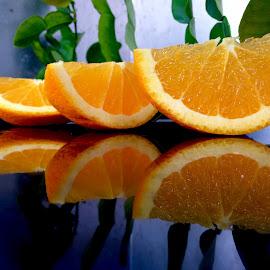 orange slice by Janette Ho - Food & Drink Fruits & Vegetables
