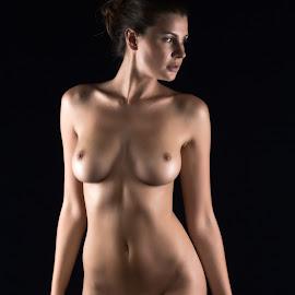 Olga by Riaan Rampix - Nudes & Boudoir Artistic Nude ( studio, olga kaminska, nude, rampix photography, fine art, @rampix_mk, saracen, #rampix )